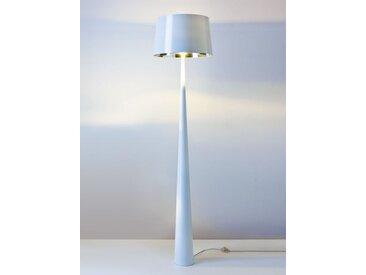 Standlampe Totem weiß, Designer Aluminor, 177.5 cm