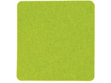 Filzauflage eckig grün, 0.5x33x33 cm