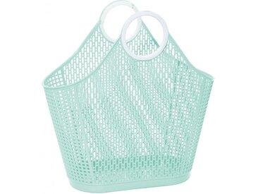 Shopper Fiesta grün, Designer Sun Jellies Design, 46x46x23 cm
