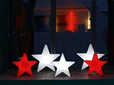 Außenlampe Shining Star 8 seasons design weiß, Designer 8 seasons design GmbH, 57x54x12 cm