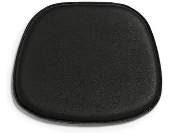 Sitzpad für Eames Plastic Side Chair schwarz, Designer Thomas Albrecht, 2x38.5x36 cm