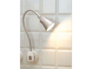 Steckerlampe Glühwürmchen Delight silber, Designer Stiletto