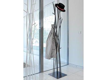 Garderobenständer Latva Covo schwarz, Designer Mikko Laakkonen, 178x34.6x34.6 cm