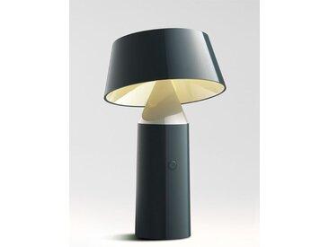 LED-Tischleuchte Bicoca Marset grau, Designer Christophe Mathieu, 22.5 cm