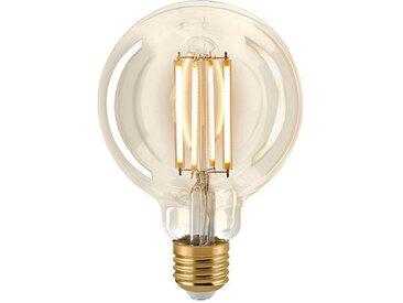 Nostalgie LED Leuchtmittel gold, 14 cm