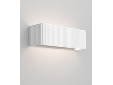 LED-Wandspot Dresscode W Rotaliana weiß, Designer Giovanni Lauda, 9x30x10 cm