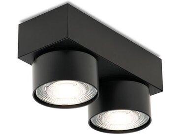 LED Deckenleuchte Wittenberg 4.0 Mawa Design schwarz, Designer Jan Dinnebier, 9.4x18.3x7.7 cm