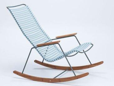 Schaukel-Stuhl Click Houe blau, Designer Henrik Pedersen, 92x100 cm