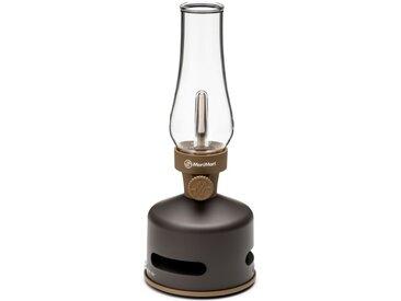 Tischlampe/Lautsprecher LED Lantern Speaker sbam design braun, Designer Keen Hsu, 27 cm