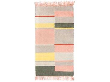 In- und Außenteppich Unique pink, Designer pad concept, 92 cm