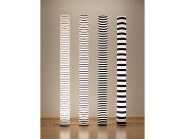 Stehlampe Chameledeon Stripes 1 Chameledeon mehrfarbig, Designer Jörg Schieber, 196 cm