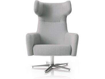 Softline Dreh-Sessel Havana Swivel grau, Designer Busk & Hertzog, 113x79x90 cm