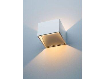 LED-Wandspot New Kube, 7x10x10 cm