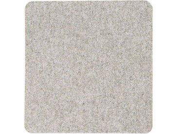 Filzauflage eckig grau, 0.5x33x33 cm