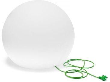 Leuchte Happy Apple Pedrali weiß, Designer Alberto Basaglia, Natalia Rota Nodari