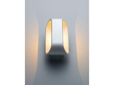 LED-Wandleuchte Orsay weiß, 18x10x9.2 cm