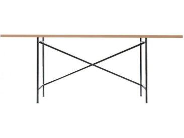 Tischgestell Eiermann 1 Richard Lampert schwarz, Designer Prof. Egon Eiermann, 66-86x110x78 cm