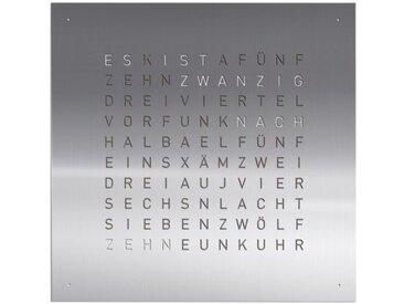 Wand-Uhr Qlocktwo QLOCKTWO, Designer Biegert & Funk, 45x45x4.5 cm