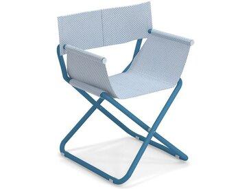 Regiestuhl Snooze Emu Group blau, Designer EMU research centre, 80x61x60 cm