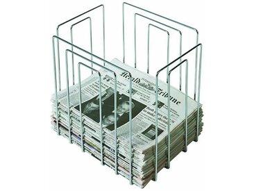 Zeitschriftensammler Full Size Thomas Merlo, Designer Willi Glaeser, 37x42x32 cm