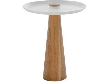 Beistell-Tisch W-Move Table Wagner weiß, Designer Joel Hoff, 50 cm