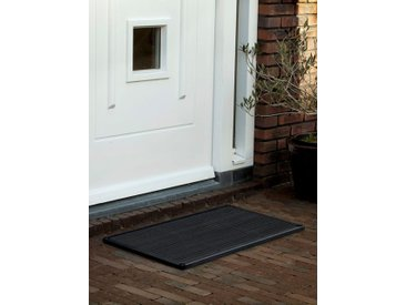 Outdoor-Fussmatte door-line RiZZ grau, Designer Teun Fleskens, 2.2x87x44 cm