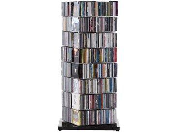 Opinion Ciatti CD Säule Ptolomeo X4 schwarz, Designer Bruno Rainaldi, 110x52x52 cm