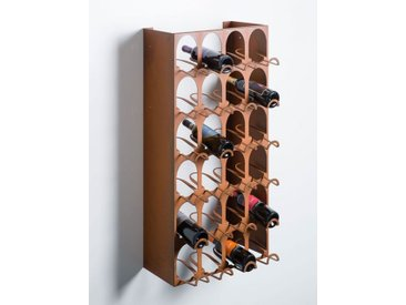 Wein-Regal Libreria del Vino Elite, TO BE, Designer Ruggero Camilotto, 100x50x34 cm
