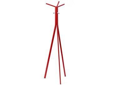 Garderobenständer Seven Profim rot, Designer Tomek Rygalik, 167x51x44 cm