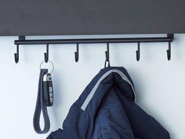 Haken-Leiste für Garderobenleuchte GL 8 Gera-Leuchten mehrfarbig, Designer Thomas Ritt, 9x38x5 cm