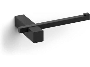 Zack Toilettenpapierhalter Carvo schwarz, Designer Zack Design, 2.6x16.5x10 cm