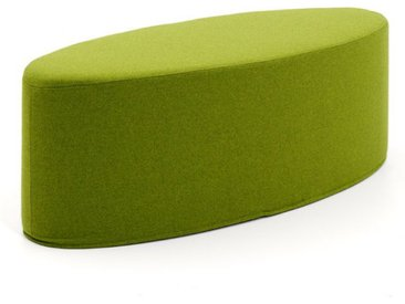 Softline Schemel Bon-Bon grün, Designer Busk & Hertzog, 33x100x40 cm