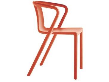 Stapelsessel Air Magis orange, Designer Jasper Morrison, 77.5x53x50.5 cm