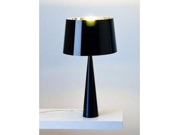Tischlampe Totem schwarz, Designer Aluminor, 58.5 cm