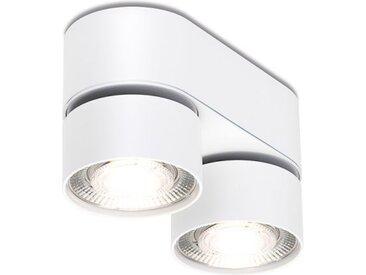 LED Deckenlampe Wittenberg 4.0 Fernglas Mawa Design weiß, Designer Jan Dinnebier, 9.6x17.6x7.6 cm