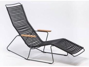 Sunrocker Click Houe schwarz, Designer Henrik Pedersen, 90x64 cm
