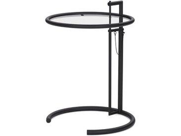 Beistell-Tisch Adjustable Table ClassiCon schwarz, Designer Eileen Gray, 64-102 cm