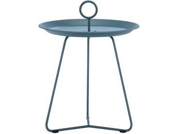 Beistell-Tisch Eyelet Houe blau, Designer Henrik Pedersen, 45.5 cm