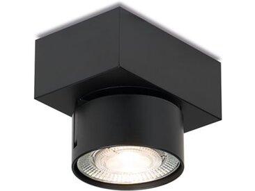 LED-Deckenaufbauleuchte Wittenberg 4.0 Mawa Design schwarz, Designer Jan Dinnebier, 9.4x11x7.7 cm