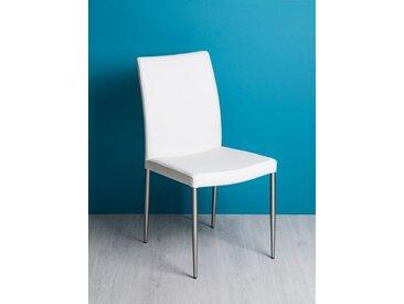Stuhl Tonia weiß, 93x47x54 cm