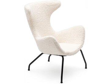 Loungesessel Peco weiß, 96x77x78 cm