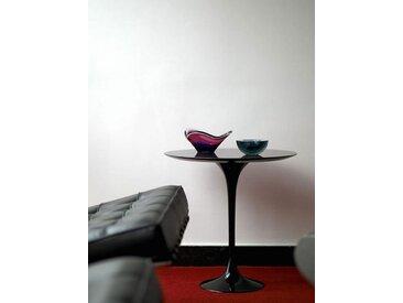 Beistell-Tisch Saarinen Tulip Knoll International schwarz, Designer Eero Saarinen, 52 cm