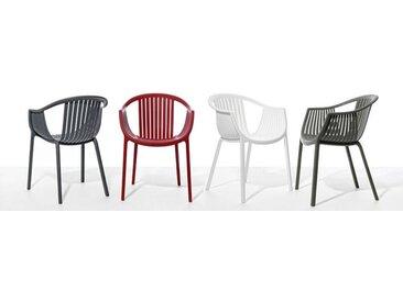 Sessel Tatami Pedrali grau, Designer Pocci & Dondoli, 78x58x61.5 cm