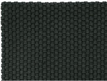 In- und Outdoormatte Uni schwarz, Designer pad concept, 170 cm