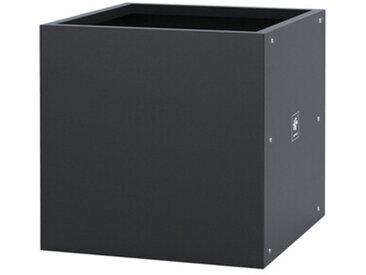 Pflanzgefäß Metal Planter Cube Herstera grau, Designer Herstera Garden, 50x50x50 cm