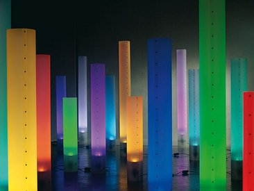 Standleuchte Chameledeon Color LED Chameledeon, Designer Jörg Schieber, 71x0x0 cm