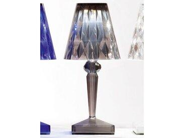 Kartell LED-Tischstrahler Battery grau, Designer Ferruccio Laviani, 22x13x13 cm