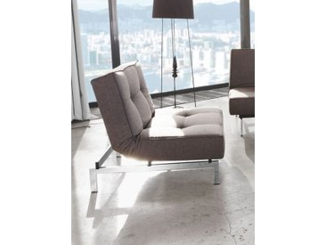 Klappstuhl Splitback Innovation Living grau, Designer Per Weiss, 79x90x90 cm