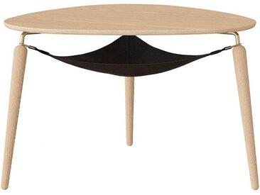 Beistelltisch Hang Out Umage braun, Designer Jonas Søndergaard, 49x75x73 cm