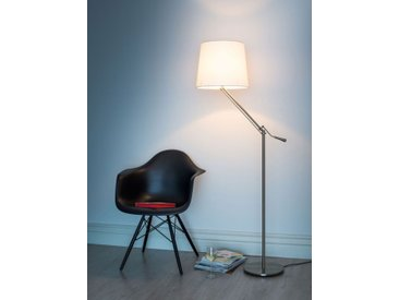 Stehlampe Knick sompex grau, 165 cm